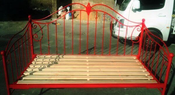 metal steel iron daybed image