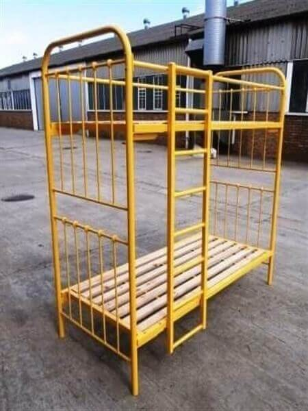 steel metal iron Double Bunk image